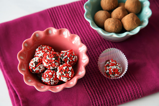 dairy free chocolate truffles