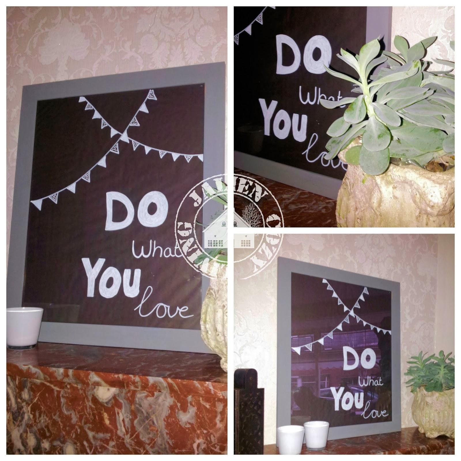 DIY doodle bord / DIY reusable doodle pictureframe * Jalien Cozy Living *