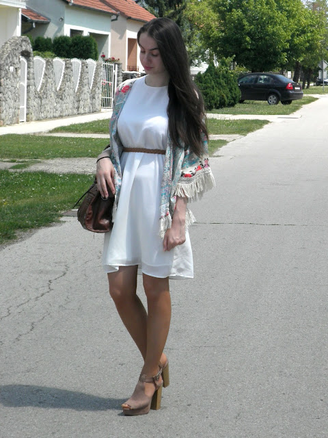 boho chic outfit, summer dress, mango, hm