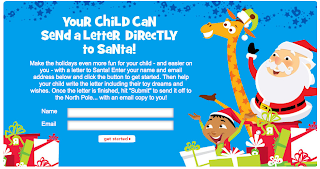 Send A Letter to Santa Free