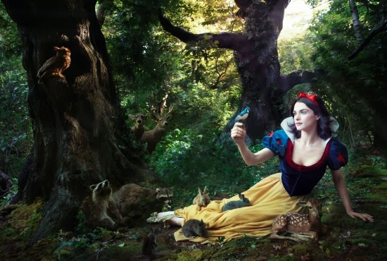 Rachel Weisz as Snow White - Annie Leibovitz - Disney Dream Portraits