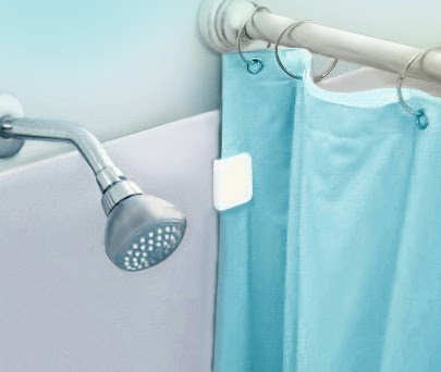 How To Stop Your Shower Curtain From Blowing In