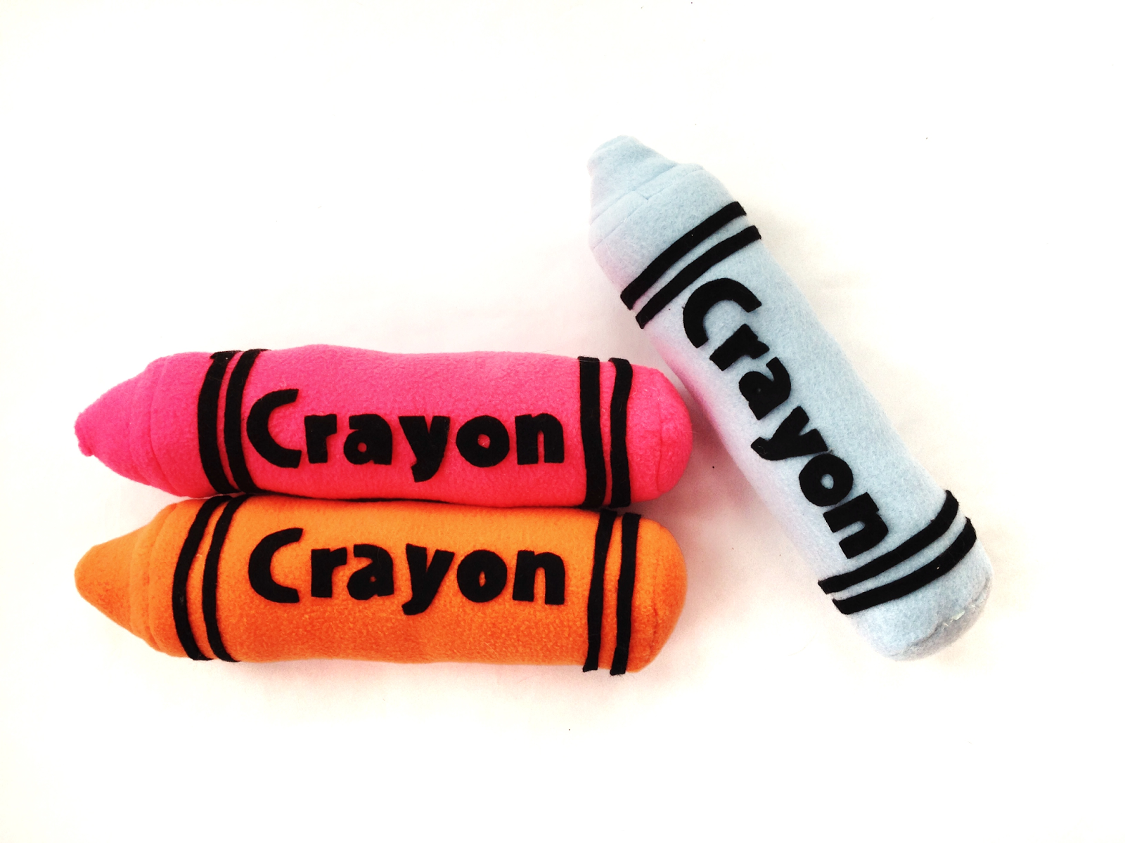 plush crayon sewing pattern