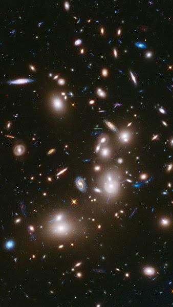 cluster galaksi, ribuan galaksi, Abell 2744