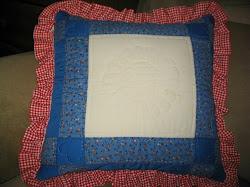 FIRST quilt block