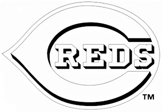 Escudo de los Reds de Cincinnati para colorear