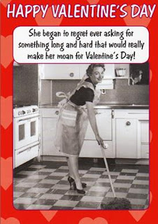 Happy Valentine's Day to all…or not! LOL!