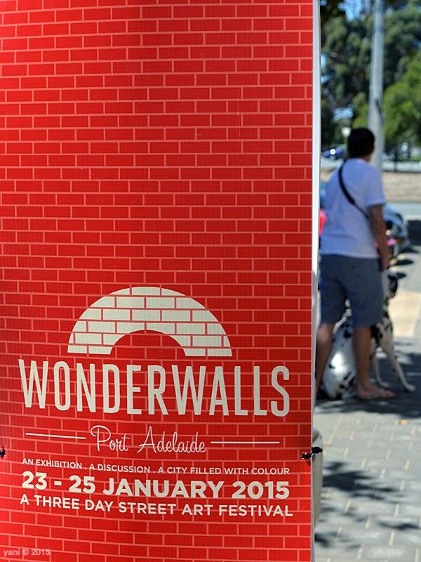 wonderwalls port adelaide - signage