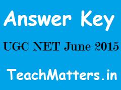 image : UGC NET June 15 Answer Keys @ www.teachmatters.in