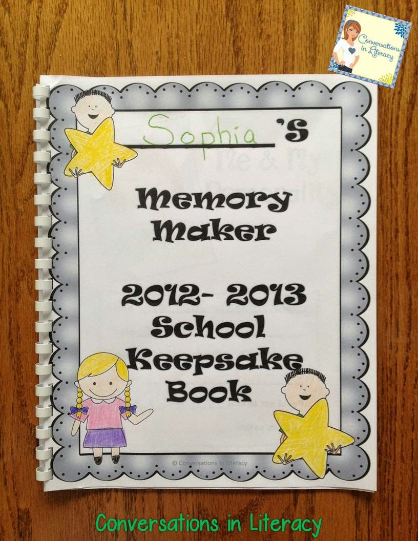 Memory Makers Keepsake School Book