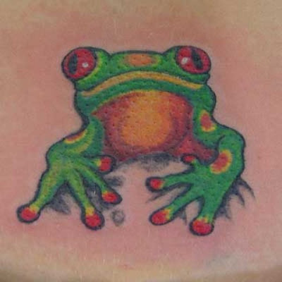 Tribal Tattoo Design Frog Picture1