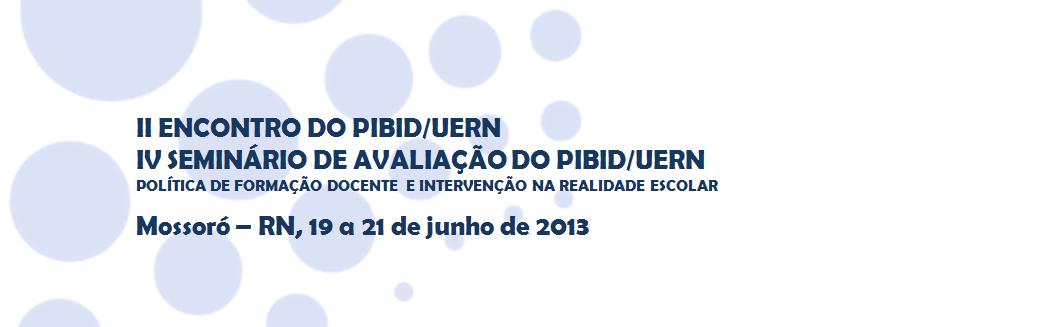 II Encontro PIBID/UERN