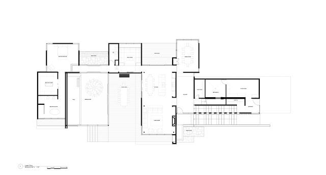 Clearview Residence lower floor floor plan
