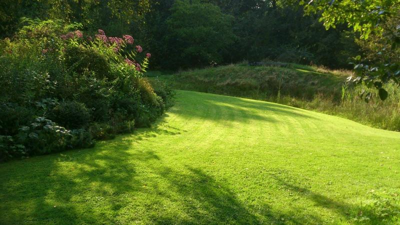 The Sallandse landschapstuin. Landscape Garden. Jardín privado Holanda