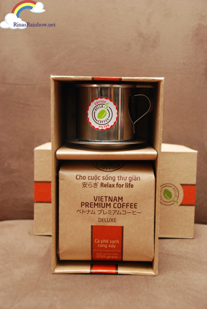 hello5 coffee gift set