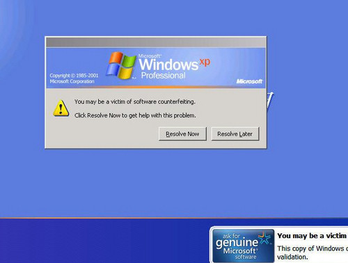windows xp activator remover