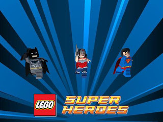 Screenshots of the LEGO: DC super heroes for Android tablet, phone.