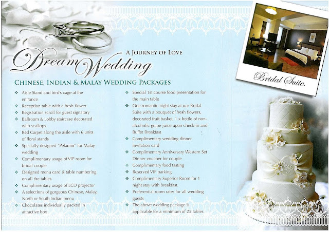 DREAM WEDDING PACKAGE WITH CRYSTAL CROWN HOTEL