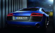Audi R8 2013Rear End