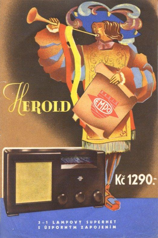 Aparatos de Radio. 42 ejemplos de publicidad vintage. Empo