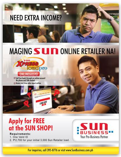 Sun XpressLoad Pro Onlinegosyo - Earn by Selling Prepaid Load Online
