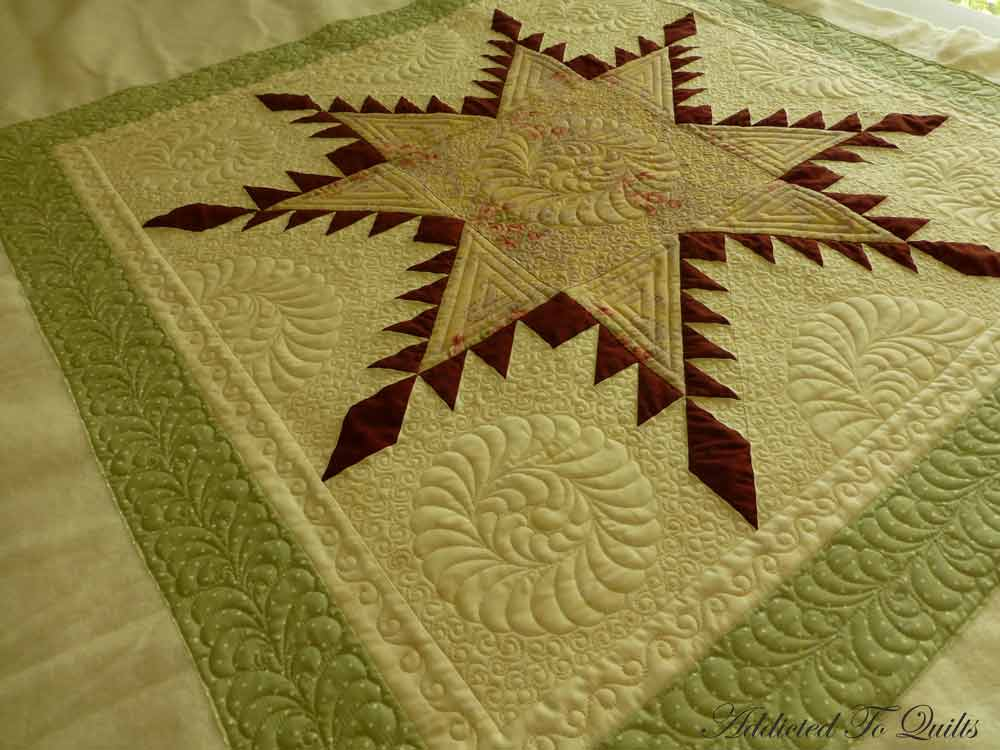 Addicted To Quilts: Feathered Star : feathered star quilts - Adamdwight.com