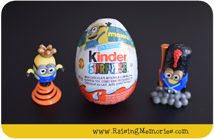 minion kinder eggs a giveaway. Black Bedroom Furniture Sets. Home Design Ideas
