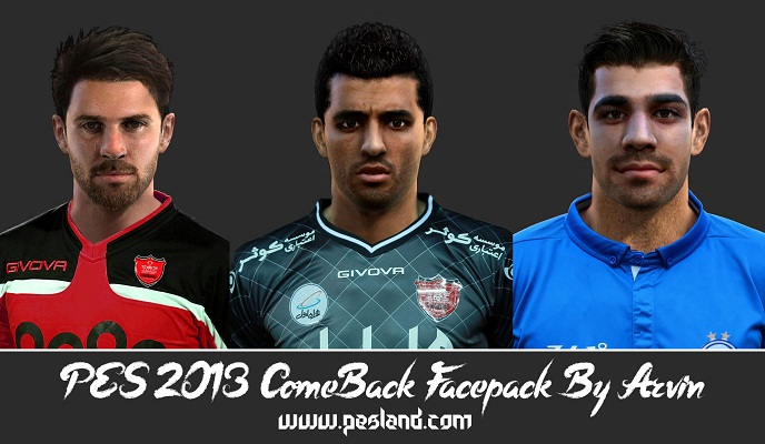 PES 2013 ComeBack Facepack By Arvin