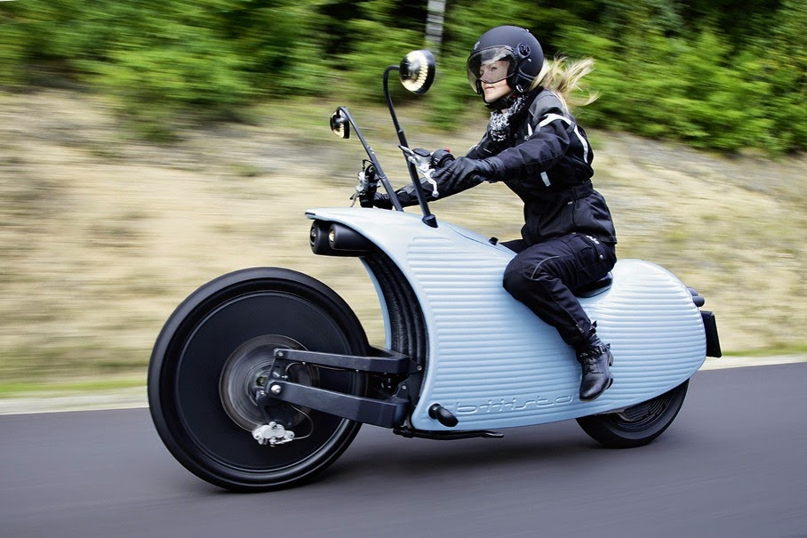 Electric motorcycle Johammer E-Bike
