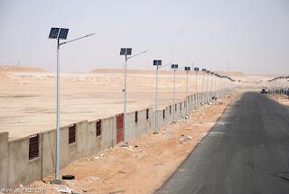 انارة الشوارع بالطاقة الشمسية فى السعوديه