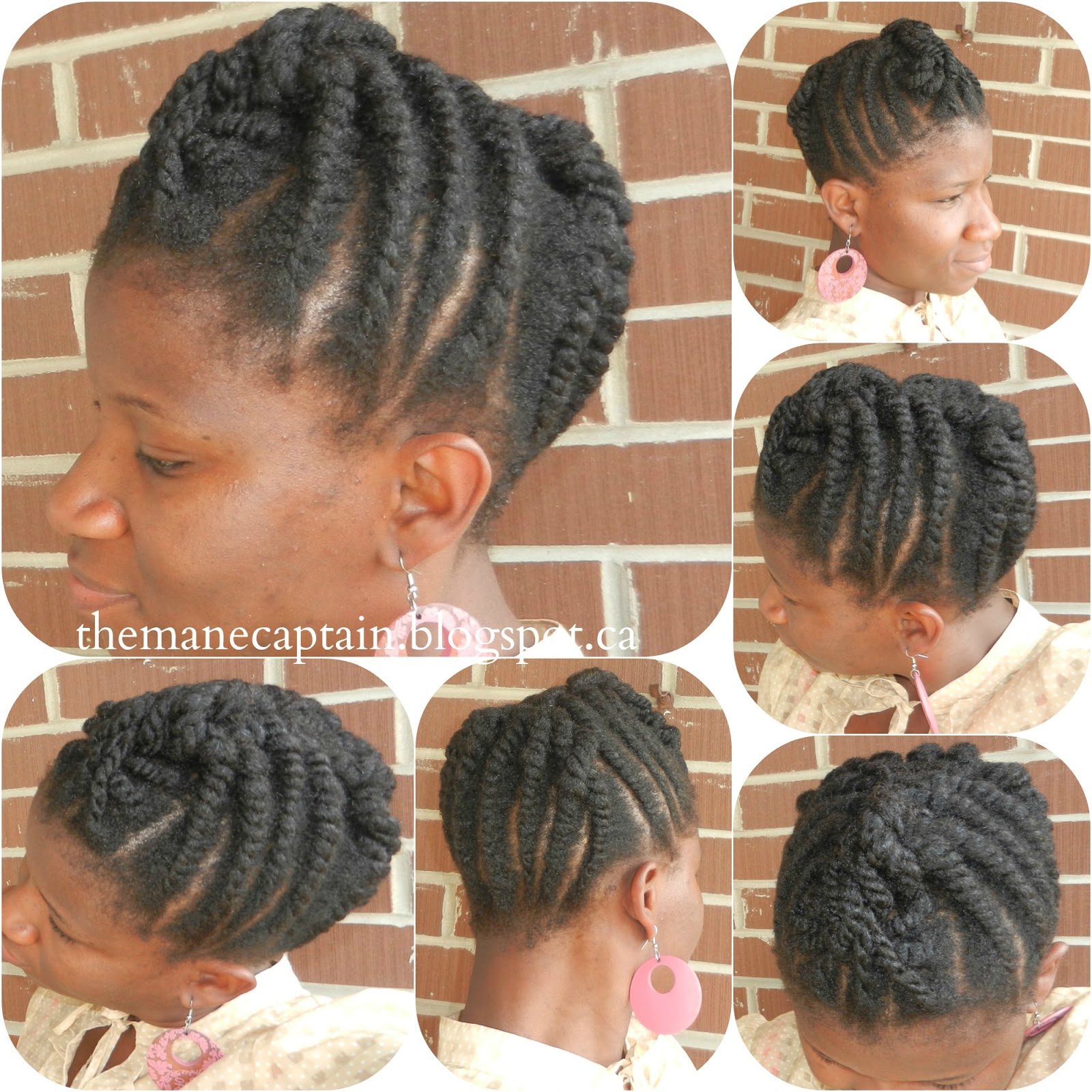 Displaying 18> Images For - Flat Twist Styles With Weave...