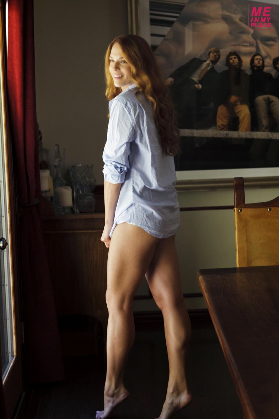 Her Calves Muscle Legs: Amanda Righetti Legs update - part 2