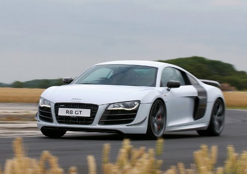 2 of 9 - 2011 Audi R8 GT Front Angle Pictures
