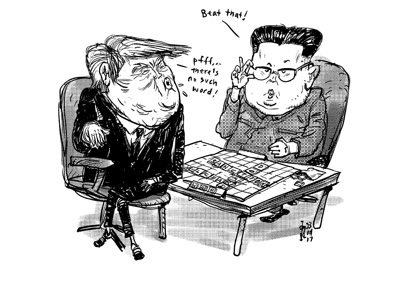 Dotard - I learned a new word from North Korean\'s leader