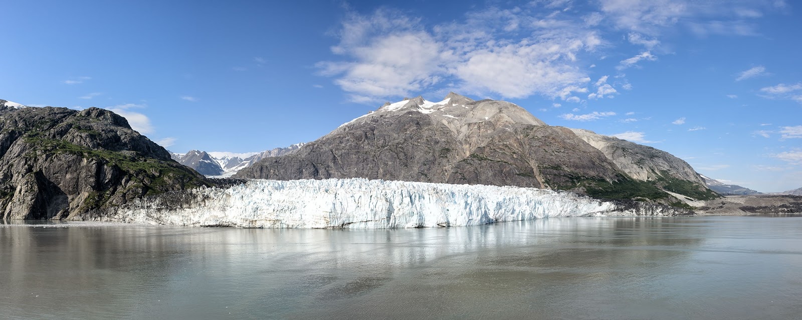 Panorama Photo of Margerie Glacier in Glacier Bay National Park