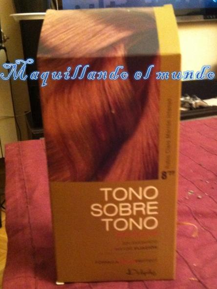 Baño De Color Rojo Intenso Mercadona: de pelo delipus, Tono sobre tono 877 (Rubio Claro Marron Intenso