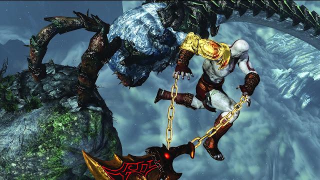 Prévia - God of War III Remastered - Revivendo experiências colossais Detalhes