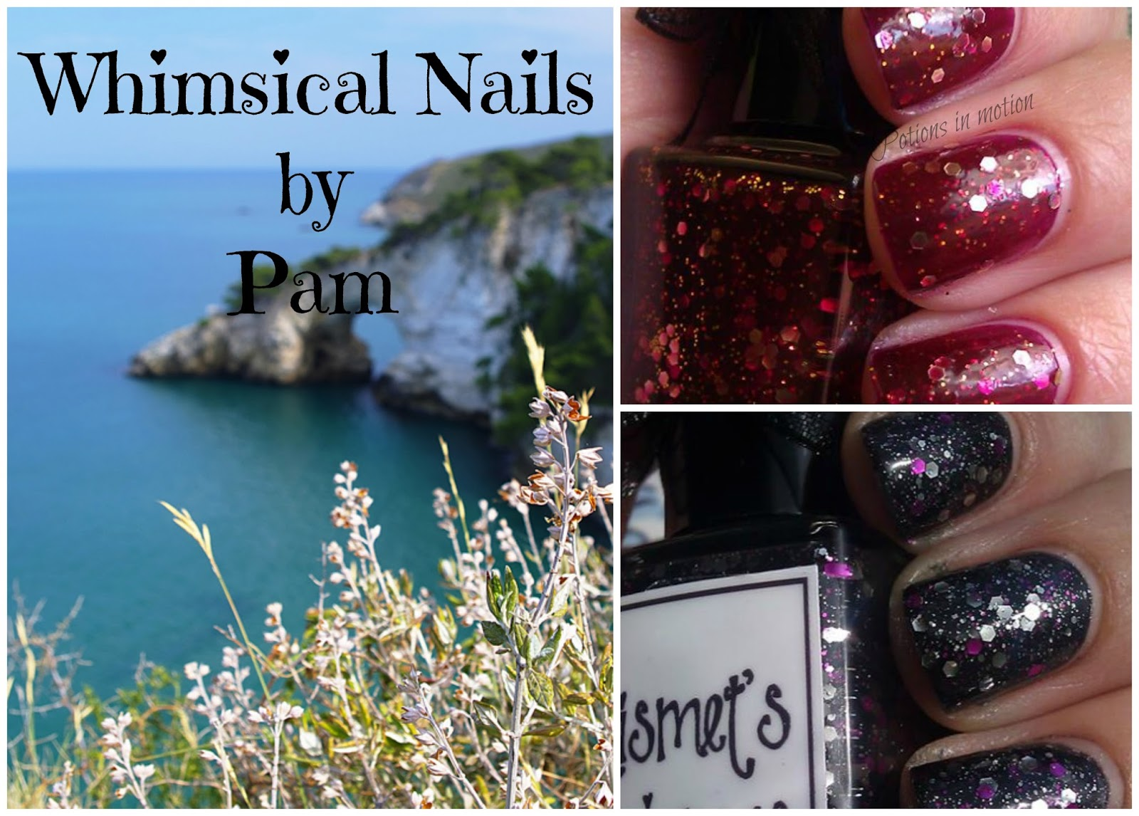 Potions in motion nail blog: Whimsical nails by Pam ~ Peanut butter ...