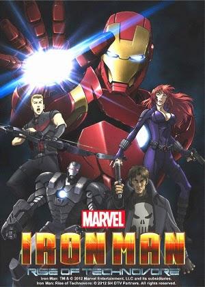Người Sắt Vô Địch Iron Man Rise of Technovore
