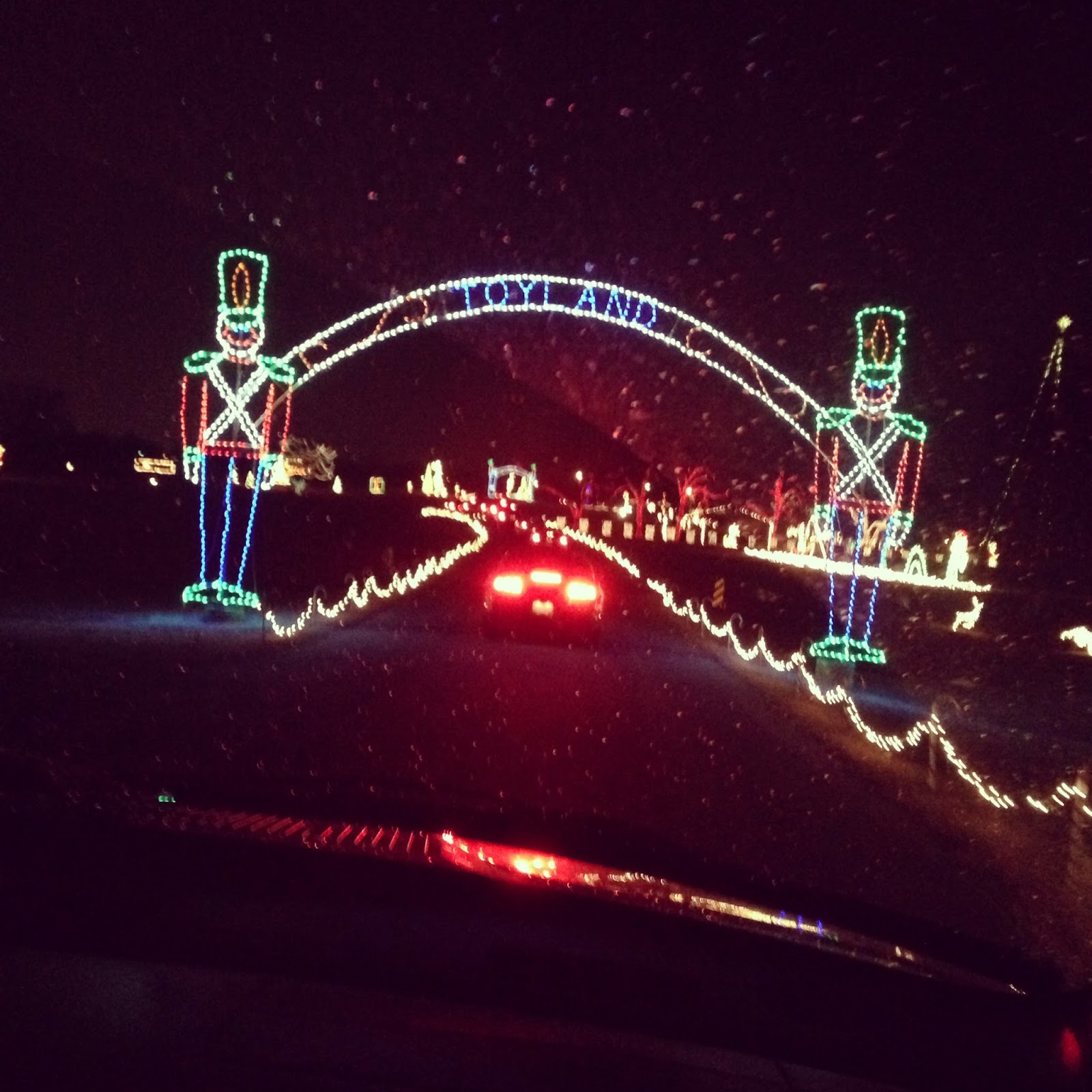 Why do we decorate with christmas lights - Go To The Drive Through Christmas Lights We Have One Nearby That S Free It S Not Huge But We Still Have A Fun Time