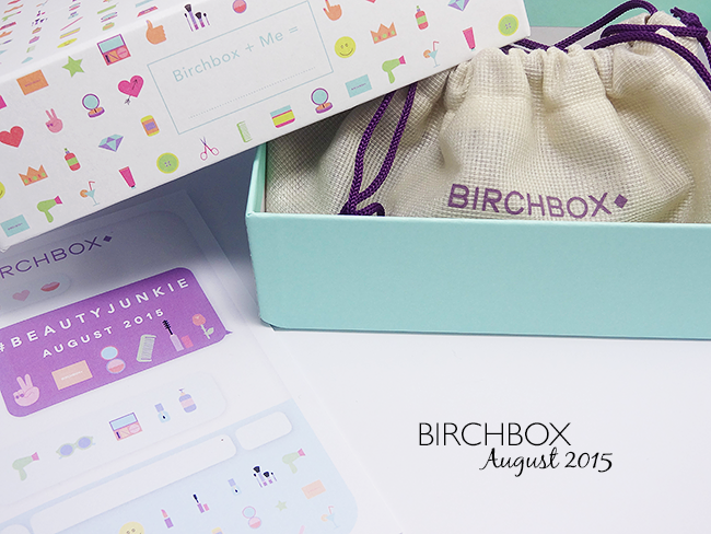 Birchbox UK August 2015