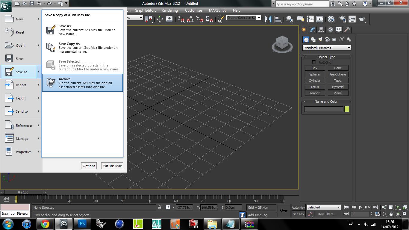 Paulo3dsmax: 20 clase visualización 3ds max