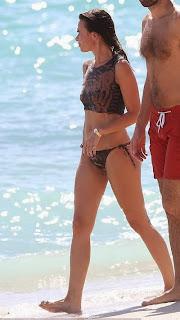 Thomas Bangalter Elodie Bouchez tiger bikini Miami