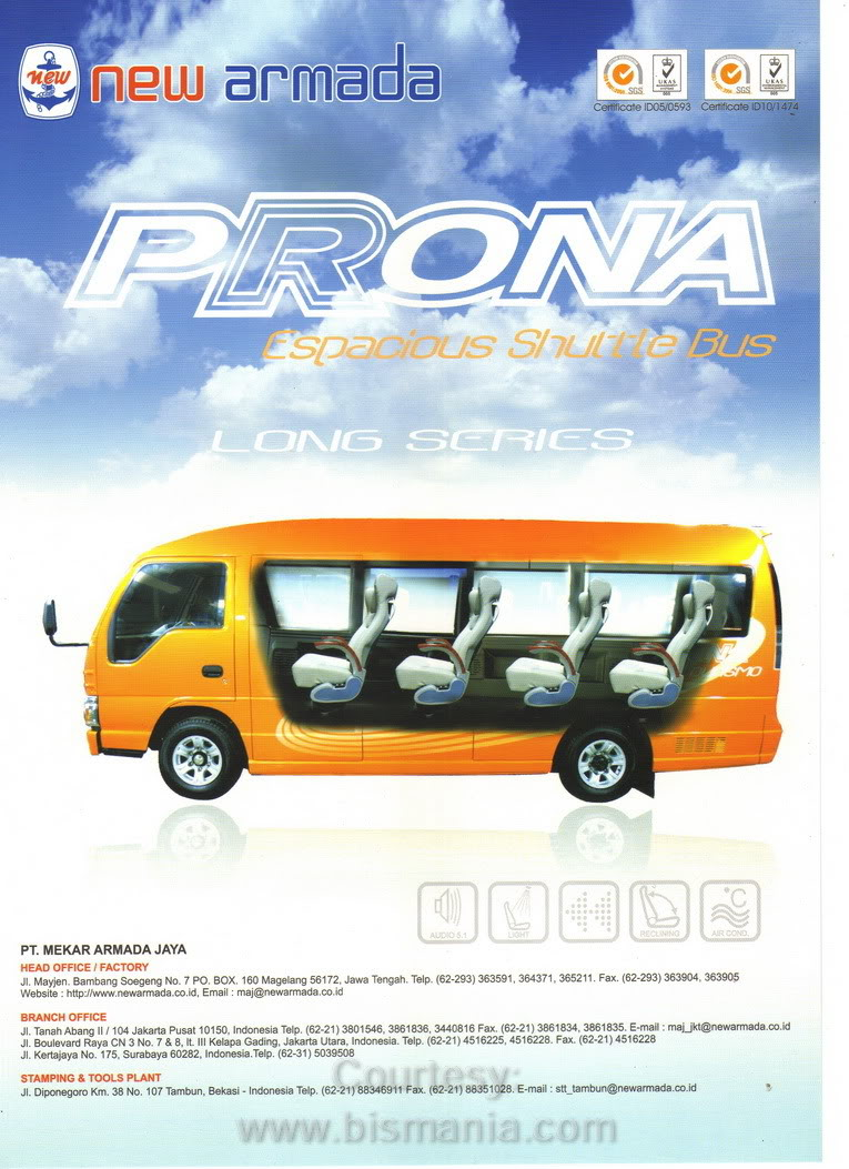 Prona New Armada - Long Series | Brochure