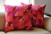 Even more patchwork cushions
