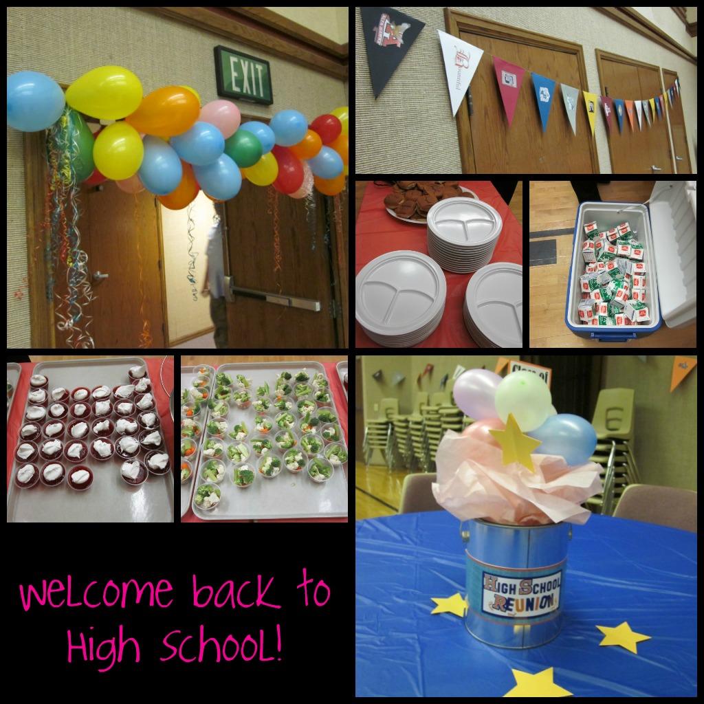 Mid week activity high school flashback relief society birthday