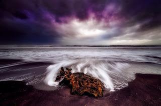 Cielo púrpura
