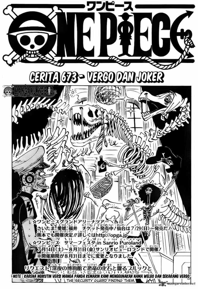 Komik manga 001 shounen manga one piece