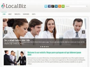 LocalBiz - Free Wordpress Theme