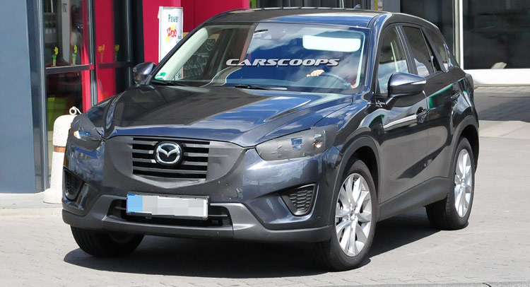 Mazda Scooped Testing Lightly Revised 2016 CX-5